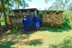 The Water Project: Makale Primary School -  Girls Latrine Block