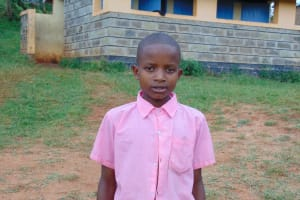 The Water Project: Kapsaoi Primary School -  Student Allan