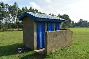 The Water Project: ACK St. Peter's Khabakaya Secondary School -  Girls Latrines