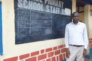 The Water Project:  Senior Teacher Moses Mugambi
