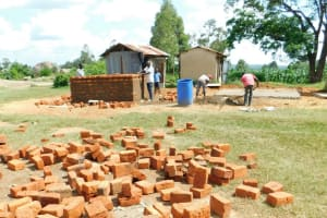 The Water Project: Enyapora Primary School -  Brick By Brick