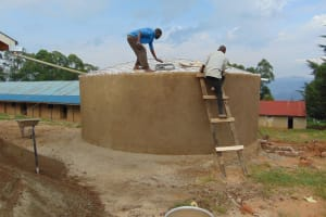 The Water Project: Goibei Primary School -  Dome Work