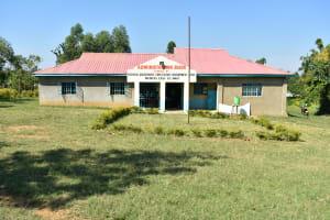 The Water Project: Ebubole UPC Secondary School -  School Administation Building
