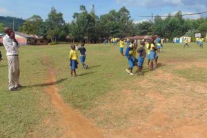 The Water Project:  Students Play During Break
