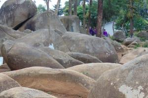 The Water Project: Kapsogoro Primary School -  Rocky School Landscape