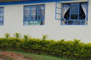 The Water Project: Malinda Secondary School -  School Sign In Window