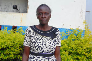 The Water Project: Mutiva Primary School -  Teacher Mrs Macline Alusa