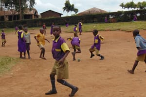 The Water Project: Kapsogoro Primary School -  Students On The Playground