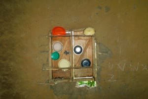 The Water Project: Makale Primary School -  Window As Improvised Dishrack