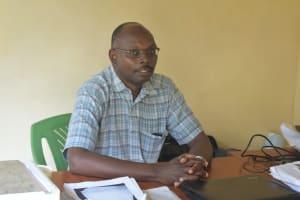 The Water Project: ACK St. Peter's Khabakaya Secondary School -  Deputy Principal Kenneth Mulongo