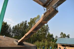 The Water Project: Shinyikha Primary School -  Guttering Sytem Into Rain Tank