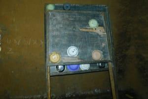 The Water Project: Makale Primary School -  Blackboard As Improvised Dishrack