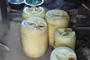 The Water Project: Kapsogoro Primary School -  Water Storage Containers