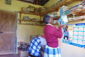 The Water Project: Friends Secondary School Shirugu -  Students In The Library