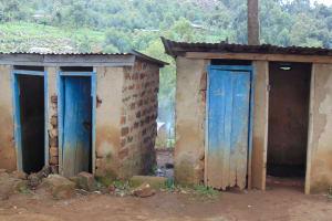 The Water Project: Kapkoi Primary School -  Boys Latrines