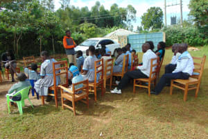 The Water Project: Womulalu Special School -  Training Begins