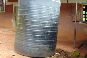 The Water Project: Kapsaoi Primary School -  Rainwater Storage Tank