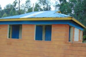 The Water Project: Kapkoi Primary School -  Girls Latrines