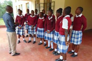 The Water Project: Friends Secondary School Shirugu -  Chorus Rehearsal