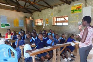 The Water Project: Enyapora Primary School -  Dental Hygiene Session