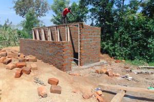 The Water Project: St. Margret Wadin'go Primary School -  Latrine Door Frames Fitted