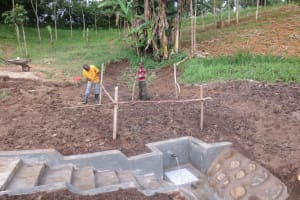 The Water Project: Emmachembe Community, Magina Spring -  Fencing