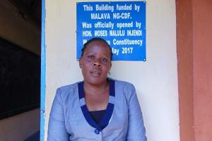 The Water Project: Friends Kuvasali Secondary School -  Teacher Mrs Damaris Tundo