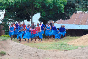 The Water Project: Kapsaoi Primary School -  Pupils Playing