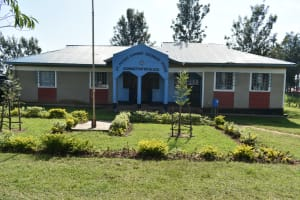 The Water Project: St. Peter's Khaunga Secondary School -  Administration Building