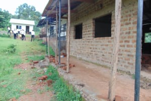 The Water Project: Friends Mixed Secondary School Lwombei -  Classrooms Partially Under Construction