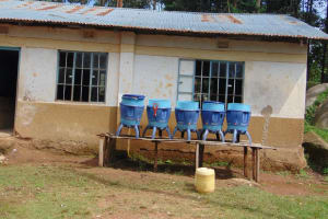 The Water Project: Kapsogoro Primary School -  Classrooms With Water Filters Out Front