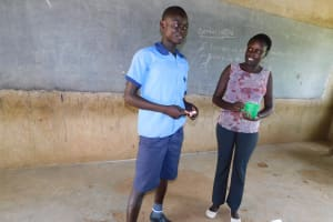 The Water Project: Enyapora Primary School -  Toothbrushing Demonstration Volunteer