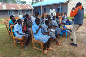 The Water Project: Womulalu Special School -  Dental Hygiene Session