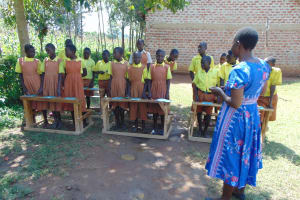 The Water Project: St. Margret Wadin'go Primary School -  Training Begins