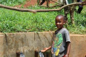 The Water Project: Mushina Community, Shikuku Spring -  Smiles At The Spring