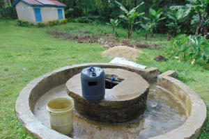 The Water Project: Friends Secondary School Shirugu -  Hand Dug Well