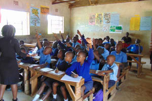 The Water Project: Enyapora Primary School -  Active Participation