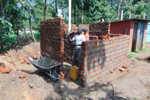 The Water Project: Ematiha Secondary School -  Latrines Underway