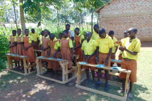 The Water Project: St. Margret Wadin'go Primary School -  Smiling Participants