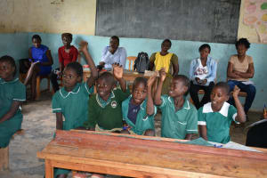 The Water Project: Elufafwa Community School -  Training Participants Were Lively