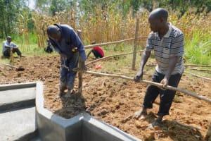 The Water Project: Sichinji Community, Kubai Spring -  Fencing