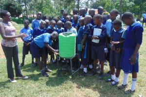 The Water Project: Enyapora Primary School -  Handwashing Practice