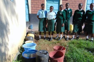 The Water Project: Friends Kuvasali Secondary School -  Everyones Bucket Almost Full