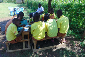 The Water Project: St. Margret Wadin'go Primary School -  Group Work