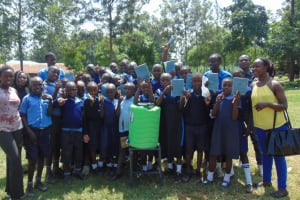 The Water Project: Enyapora Primary School -  Training Complete
