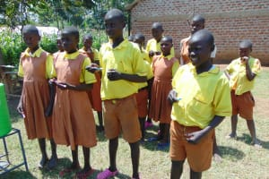 The Water Project: St. Margret Wadin'go Primary School -  Dental Hygiene Training