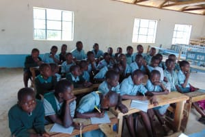 The Water Project: Mukangu Primary School -  Students Attend Training