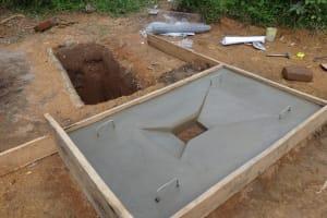 The Water Project: Bungaya Community, Charles Khainga Spring -  Sanitatino Platform Drying