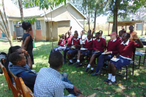 The Water Project: Ematiha Secondary School -  Training Begins