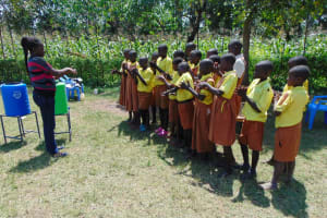 The Water Project: St. Margret Wadin'go Primary School -  Handwashing Demonstration